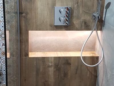 łazienka prysznic wykańczanie wnętrz